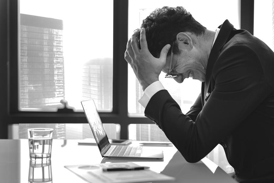 frustración en una asesoría